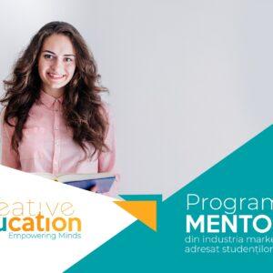 Program de mentorat din industria marketingului adresat studenților